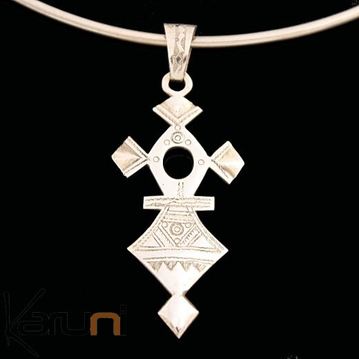 African southern cross necklace pendant sterling silver ethnic african southern cross necklace pendant sterling silver ethnic jewelry from takadea tuareg tribe design mozeypictures Image collections