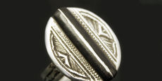 Tuareg sterling silver rings