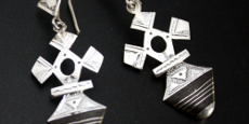 Tuareg sterling silver Niger crosses