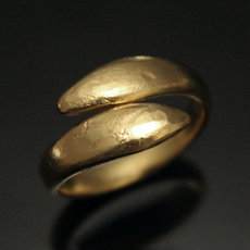 Peul Fulani Bronze Ring adjustable