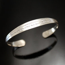 Ethnic Bracelet Sterling Silver Jewelry Large Engraved Men/Women Tuareg Tribe Design 34