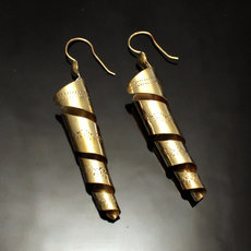 Peul Fulani Curves Earrings