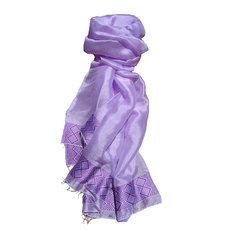 Women's Stoles Scarves for Women Ethiopian Fabric Woven Cotton Design Shemma Purple Dana Esteline