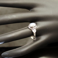 jewelry ethnical silver ring