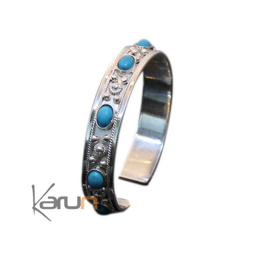 Exclusive Turquoise Silver Bracelet
