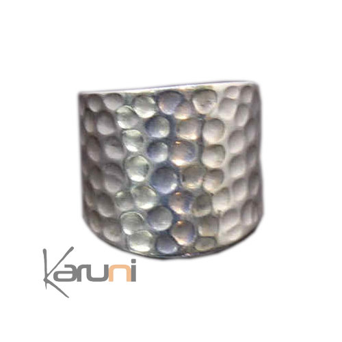 Large Hammered Exclusive Ring - KARUNI 1