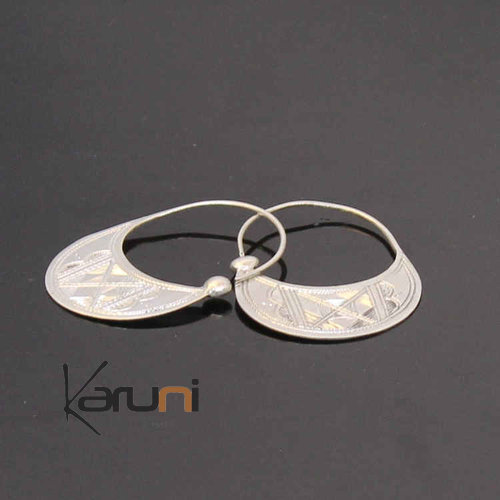 960 Sterling Silver Earrings Exclusive Creoles