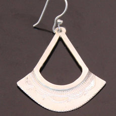 Malian Silver Earrings