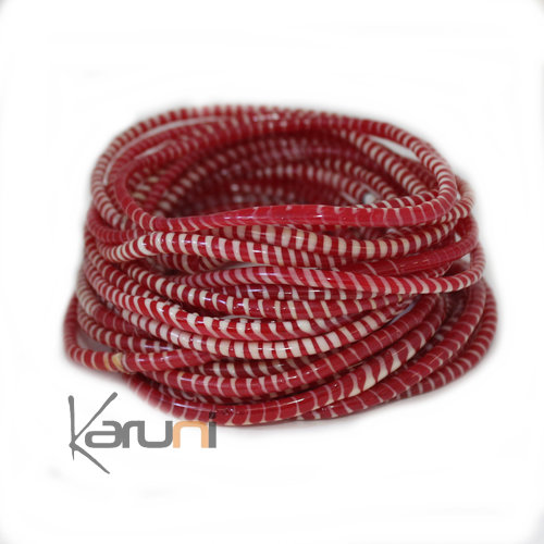 Jokko Bracelet Red White X12