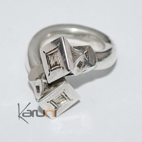 Silver Exclusive cross Ring