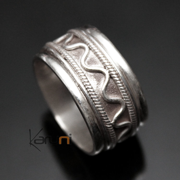 jewelry ethnical Silver ring Nepal