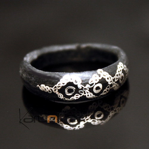 Mauritanian Silver Horn Ring
