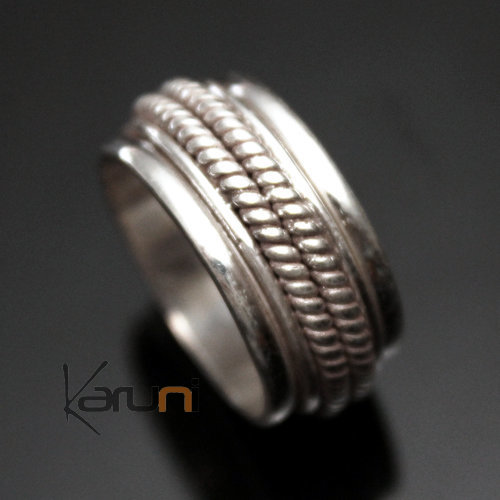 Nepalese Silver Ring Anti Stress