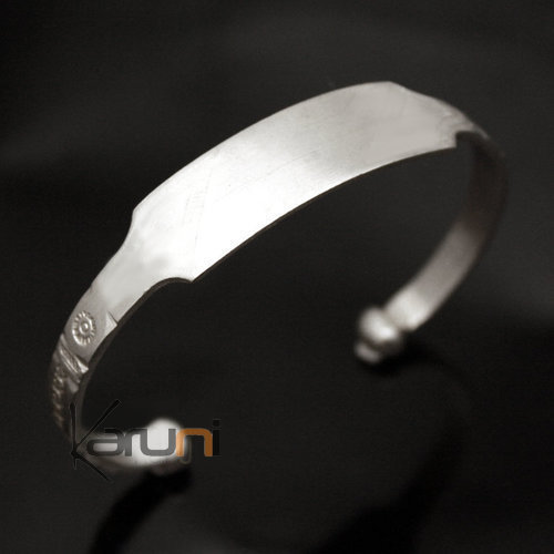 African Chain Bracelet Ethnic Jewelry Silver 750 Mauritania Men/Women Tuareg Tribe Design 07