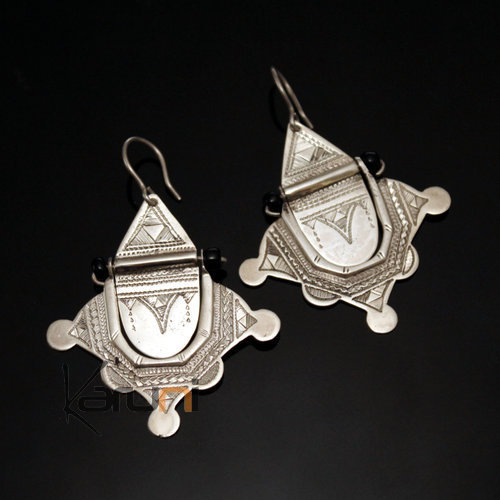 Nigerian Silver Earrings 44