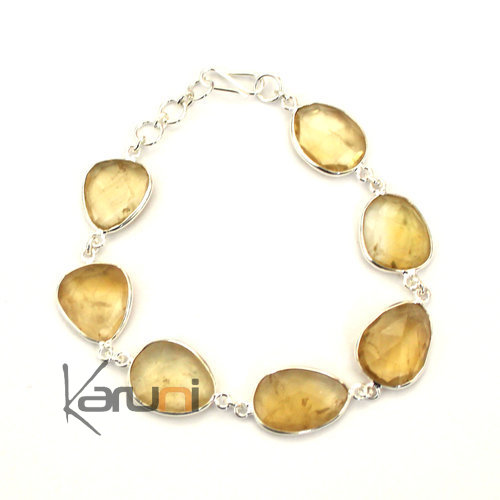 Indian Bracelet Topaze lemon