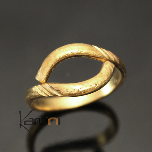 Adjustable bronze Ring 23
