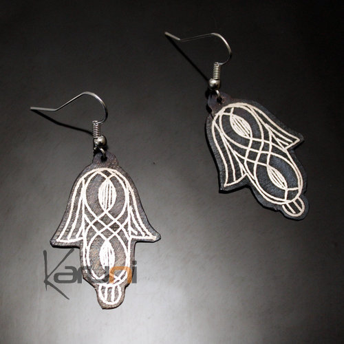 Berber Sliver and Steel  Earrings