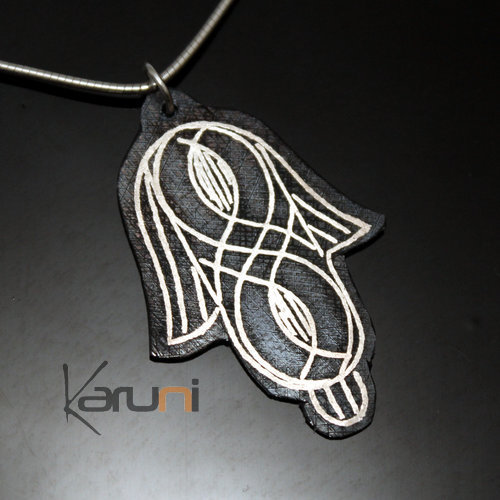 Berber Silver and Steel Pendant