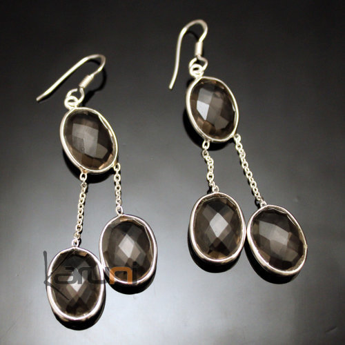 Indian Quartz Earrings 29