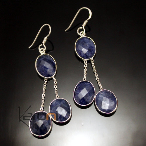 Indian Lapis Earrings 30