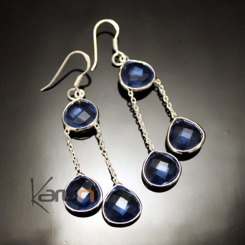 Indian lolite Earrings 35