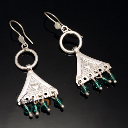 Nigerian sterling silver Earrings 164