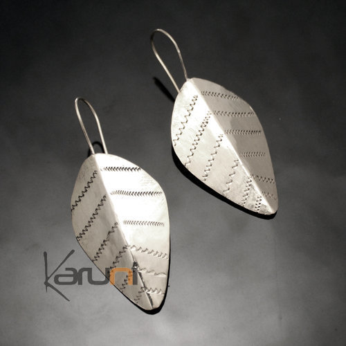 Fulani Leaf Earrings