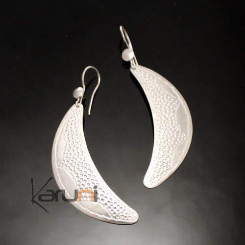 Fulani Moon Earrings