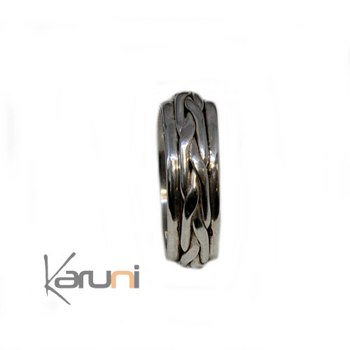 silver ring ethnical jewellery 02