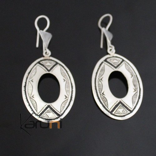 Nigerian Silver Earrings 191