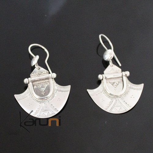 Nigerian Silver Earrings 165