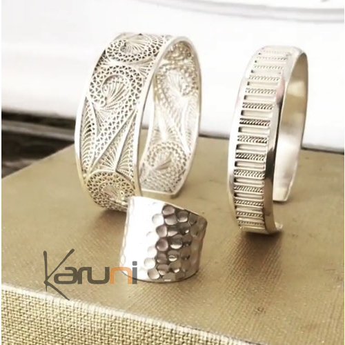 Berber Silver Filigree Exception Bracelet