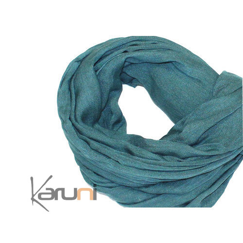 Cheche Touareg Scarf Scarf Cotton Man / Woman Green