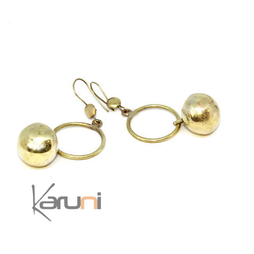 Peul Fulani Boules earrings
