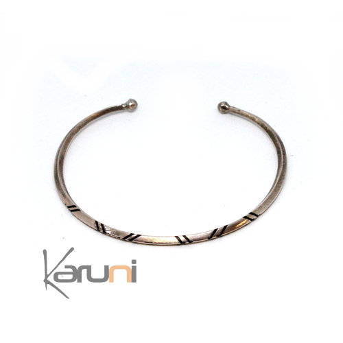 Mauritanian Mix Silver and copper Bracelet 100
