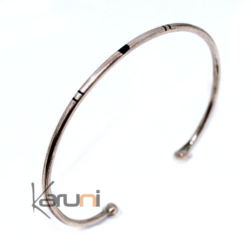 Mauritanian Mix Silver and copper Bracelet 3