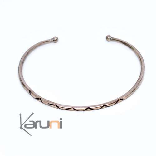 Mauritanian Mix Silver and copper Bracelet 4