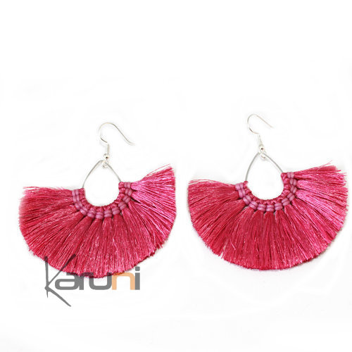 Pink Yarns Fancy Thai Earrings 4018