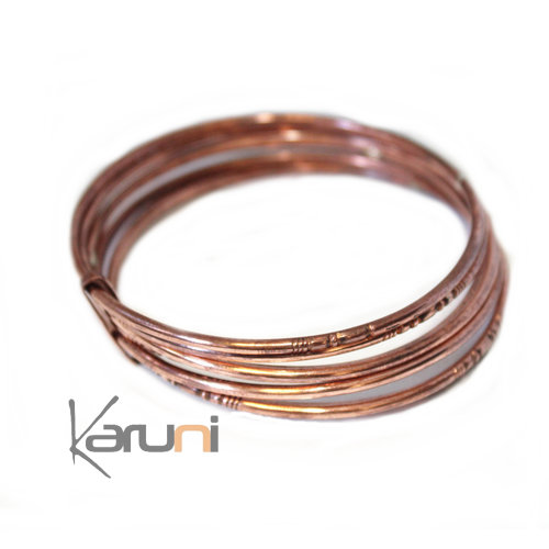 Seven-band Fancy Bracelet Copper