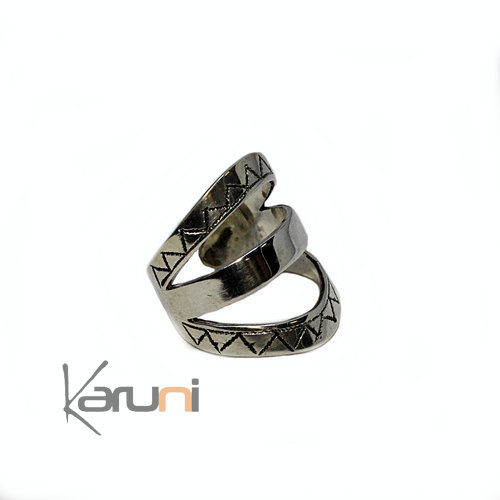 Sterling Silve Ring Adjustable Karuni 1080