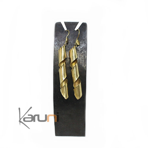 Long Metal Recycled Earrings Holder