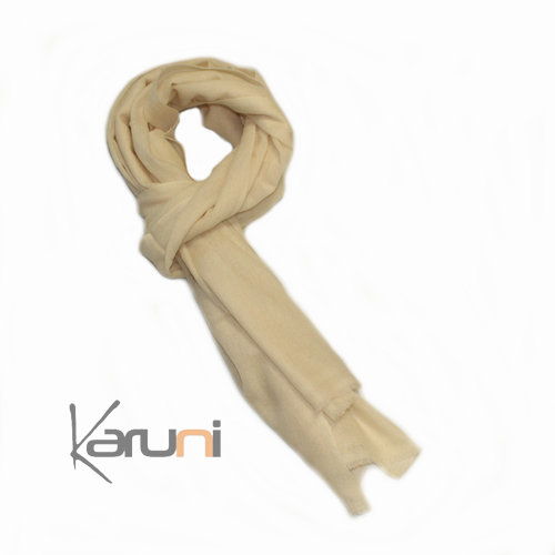 Brown Pashmina Cashmere Scarf