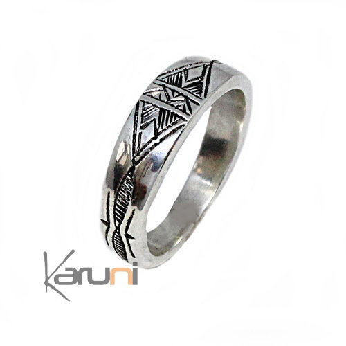 Ethnic Exclusive Silver Ring 1083