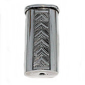 Pur silver lighter holder