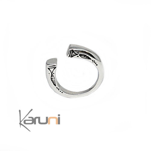 Sterling Silver Open Ring 1094