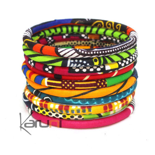 Multicolored Wax Bracelets