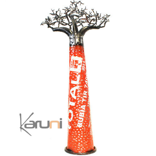Industrial Decoration Vintage Baobab recycled Metal 60 cm