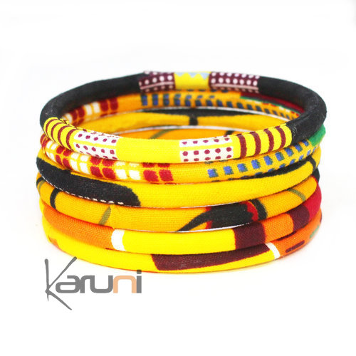 Mix Yellow Wax Bracelets