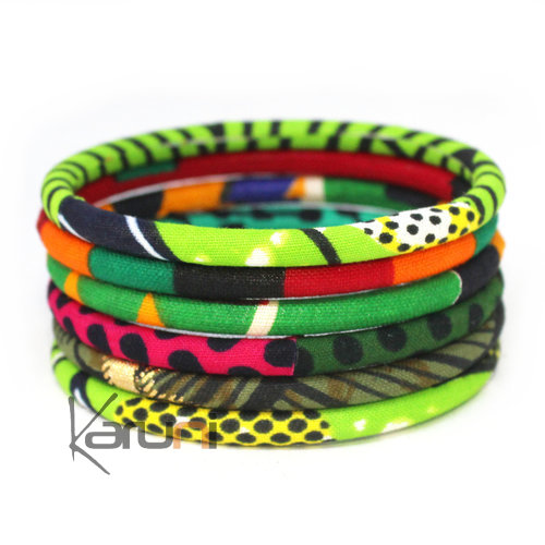Mix Green Wax Bracelets